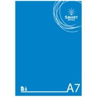 Bloco Notas Smart Office A7 Liso, 60gr, 100 Folhas