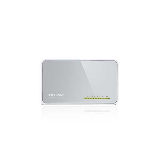 Switch TP-Link TL-SF1008D 8 Port 10/100 Mbps     (Desktop)