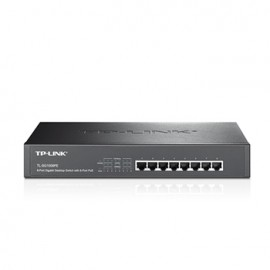 Switch TP-Link TL-SG1008PE 8 Port 10/100/1000 Mbps
