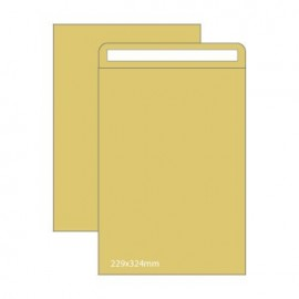 Envelopes Saco Kraft 184x261mm 90gr Pack 25un
