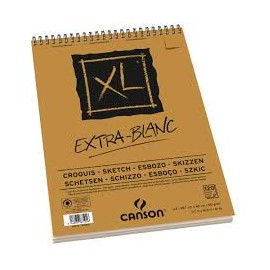 BLOCO CANSON A4 XL EXTRA-BLANC 90GRS