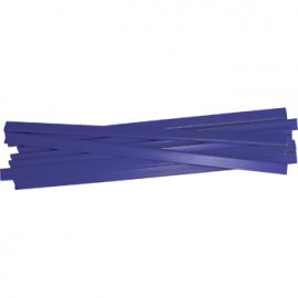 Baguete 5mm Pack 100un  Azul