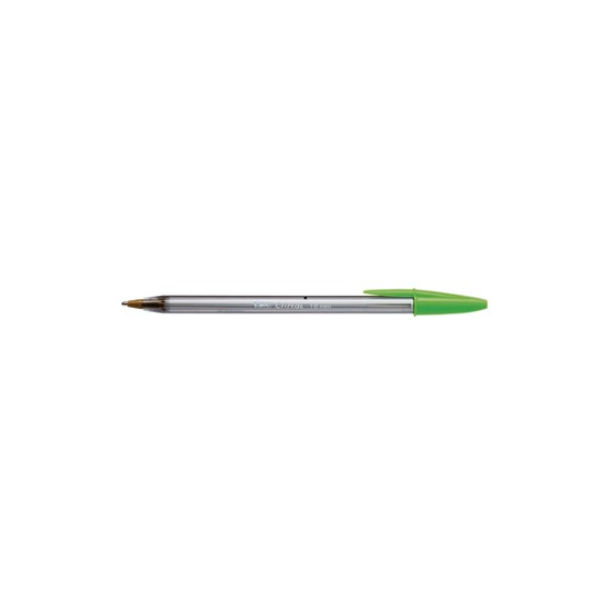 Esferografica Ball Point large BICfun Verde Limao Cx 20un