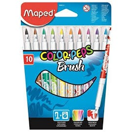 Caneta Brush Maped c/10